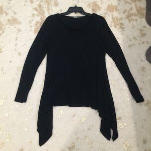 Tops - Long Sleeve Black Top